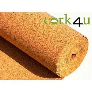 Пробковая подложка в рулоне Cork4u, 3 мм (10кв.м)