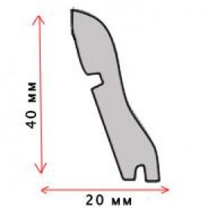 Плинтус Classen МДФ  2400х58х19 к каждой позиции ламината соответствует свой арт.